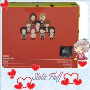 TWICE figurine @static Fluff.com