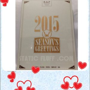 B.A.P SEASONS GREETING 2015 @ Static Fluff.com