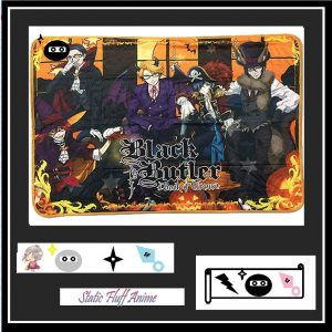 BLACK BUTLER BOOK OF CIRCUS THROW BLANKET throw RUG Australia s Authentic Merchandise anime store Static Fluff .com