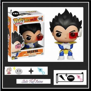 Dragon Ball Z Vegeta |Static Fluff Anime