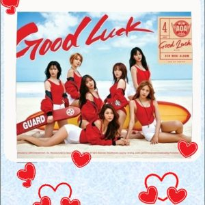 A.O.A Good Luck Album @static fluff.com