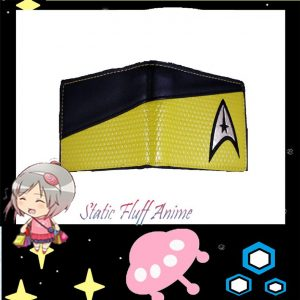 Commander Golden Yellow Star Trek Wallet @ STATIC FLUFF.COM