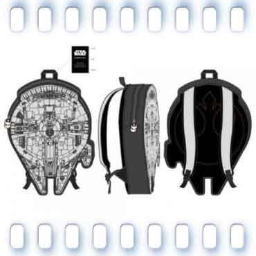 STAR WARS MILLENNIUM FALCON 3D BAG MESSENGER BAG