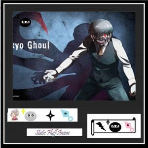 Ken Kaneki Fabric Scroll Poster Australia Authentic anime Merchandise Store
