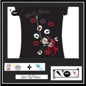 Grell and will Tee Shirt @ Static Fluff.com