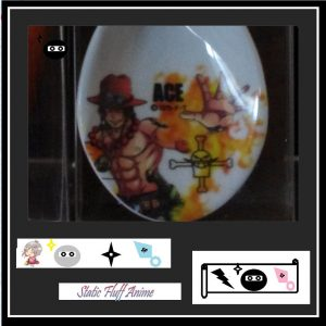 D ACE One Piece Japanese long Porcelain Spoon Australia Authentic anime Merchandise Store