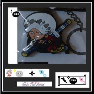 D.Law One Piece PVC Key chain Australia s Authentic Anime Merchandise Store Static Fluff.com